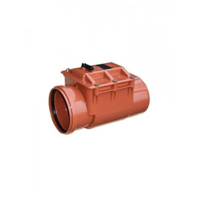 Обратный клапан ПВХ для наружной канализации Valrom CA610