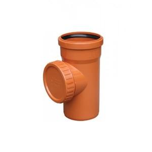 Ревизия ПВХ для наружной канализации Valrom CF400