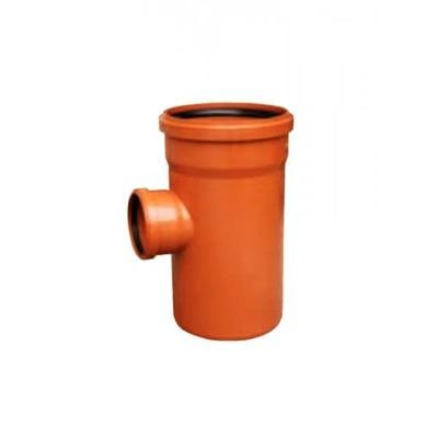 Тройник ПВХ 87 градусов для наружной канализации Valrom CF290