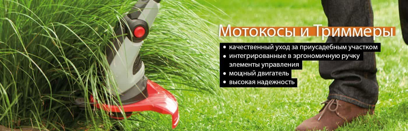 Мотокосы и триммеры в Киеве