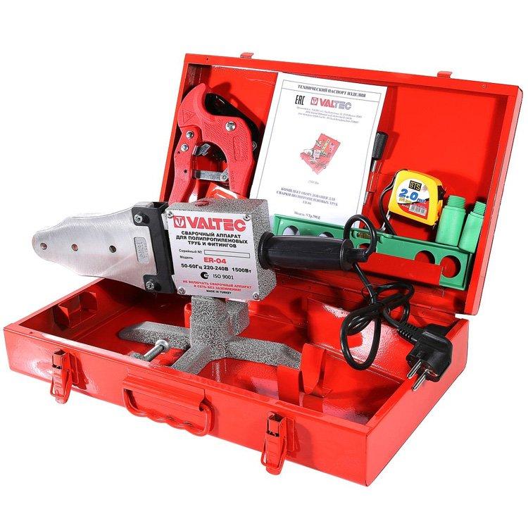 Комплект сварочного оборудования ER-04, 20-40 мм (1500вт) Valtec VTp.799.E.020040