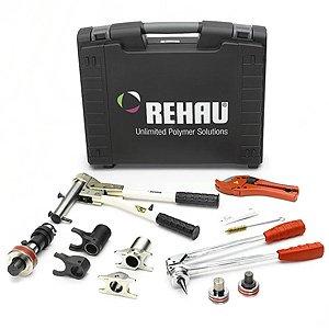 Инструмент для монтажа труб и фитингов REHAU RAUTOOL M1 в диапазоне диаметров: 16-20 мм и 25-32 мм